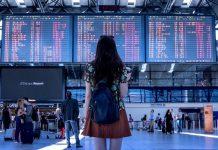 Аэропорт, авиаперелеты, путешествия, туризм