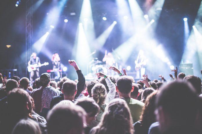Концерт, публика, музыка