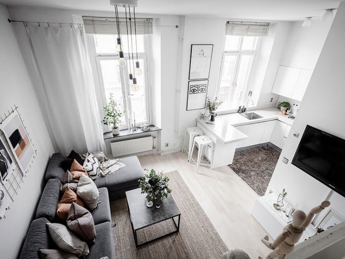 Квартира, студия, интерьер