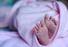 Новорожденный ребенок, ножки, ноги