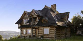 Коттедж, бревенчатый дом
