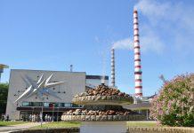 Эстонская электростанция