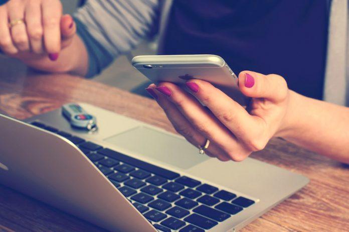 смартфон, телефон, ноутбук, компьютер, удаленка, удаленная работа