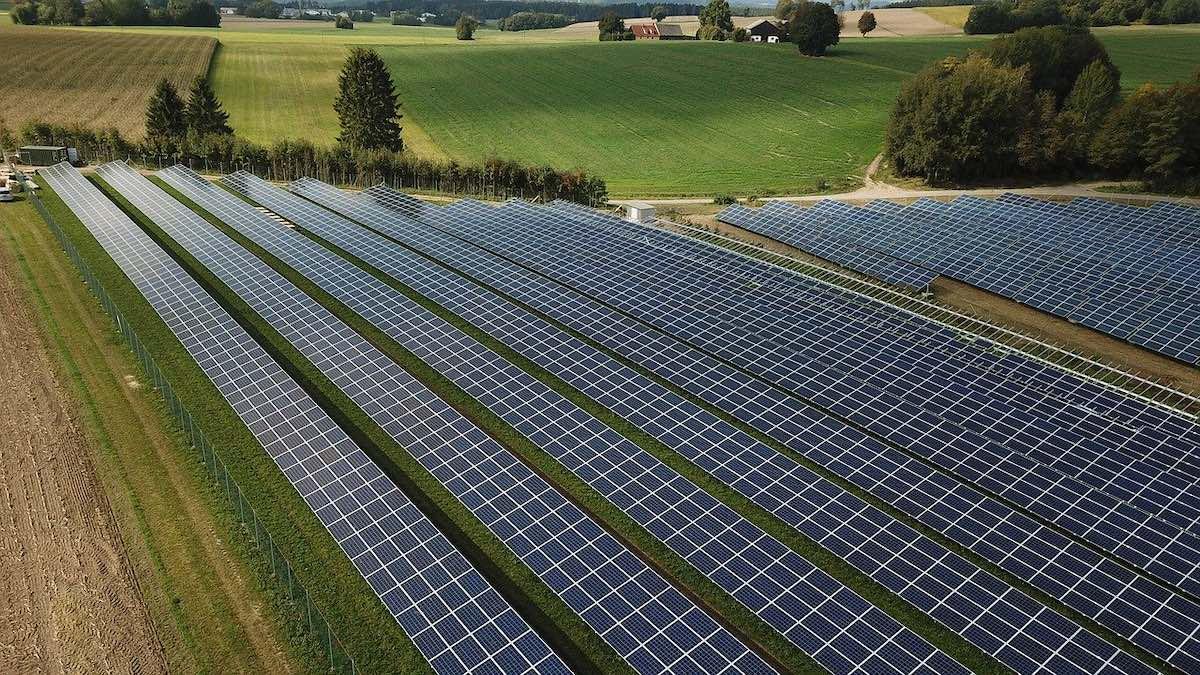 солнечная электростанция, энергетика, электричество, возобновляемая энергия, экология