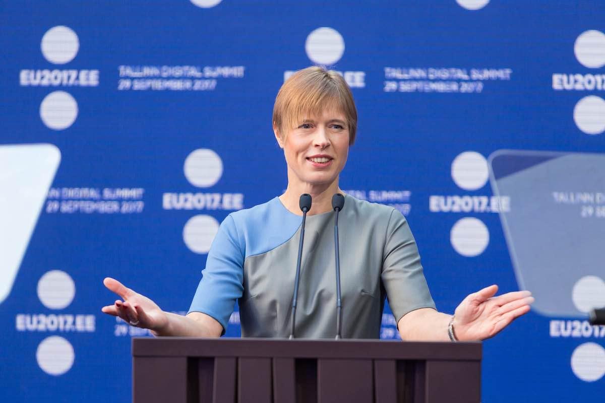 Керсти Кальюлайд. Президент Эстонии
