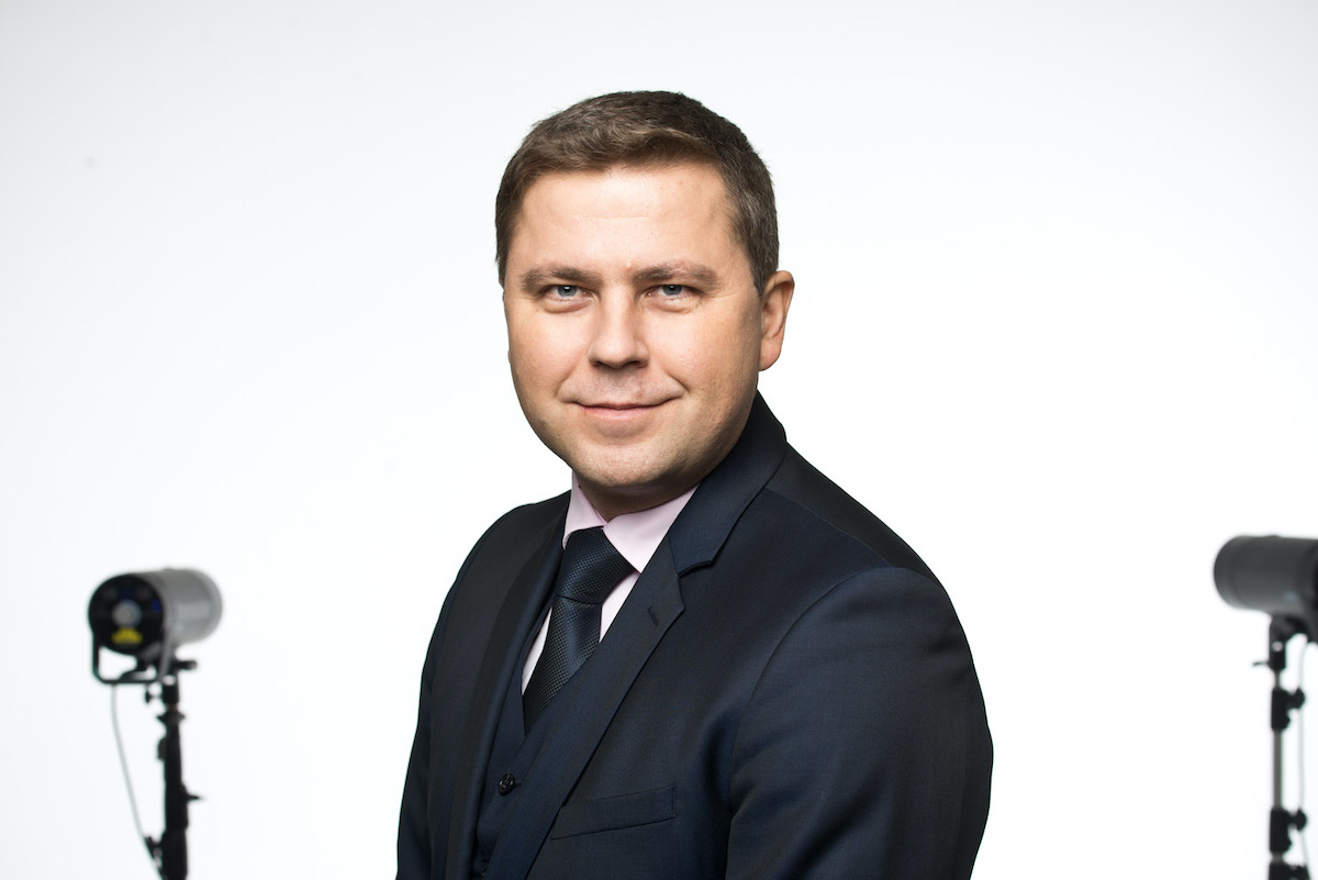 Депутат нарвского городского собрания Сергей Горлач