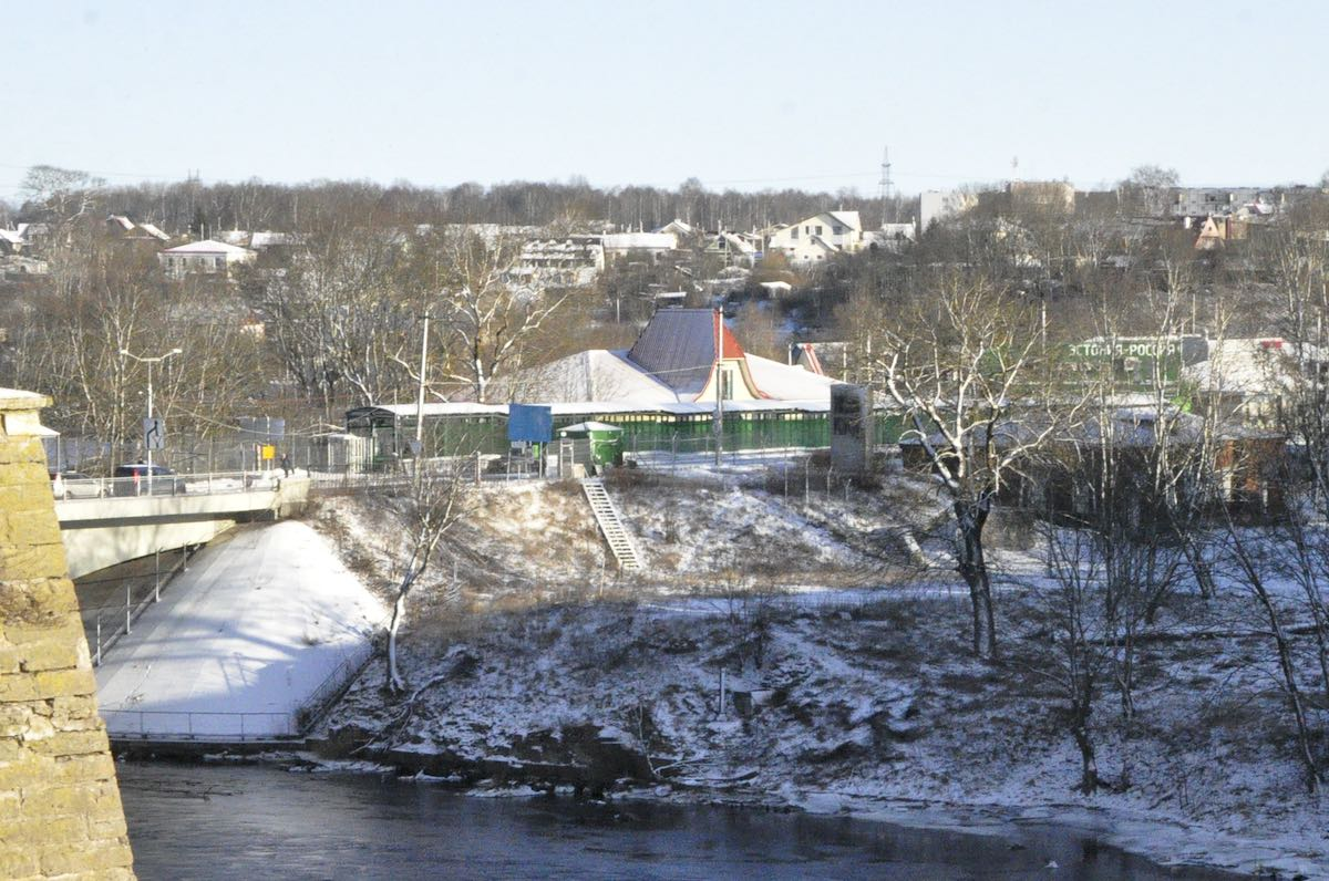 граница, Ивангород, мост Дружба
