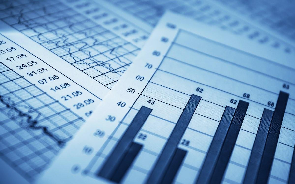 графики, диаграммы, экономика, показатели