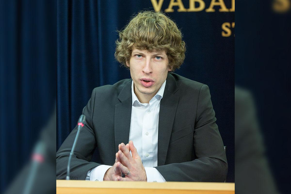 Министр социальных дел Танель Кийк. Фото: Коммуникационное бюро правительства