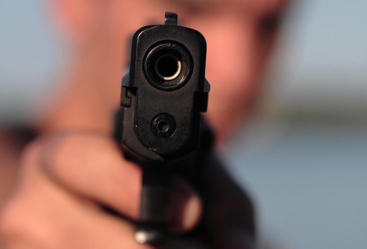 пистолет, ствол, оружие