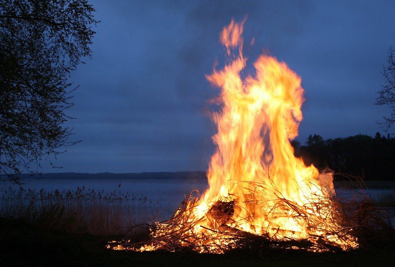 костер, огонь, Янова ночь