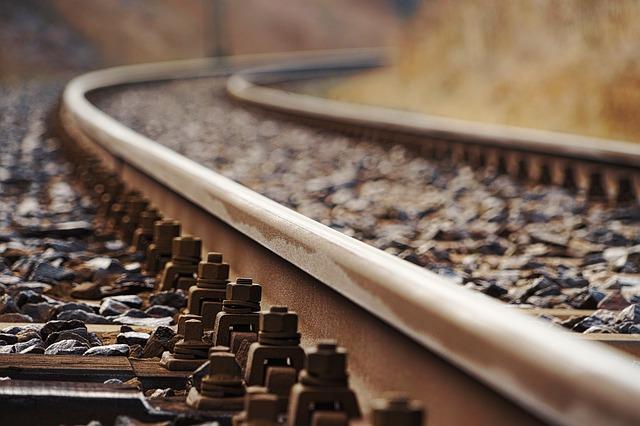 рельсы железная дорога