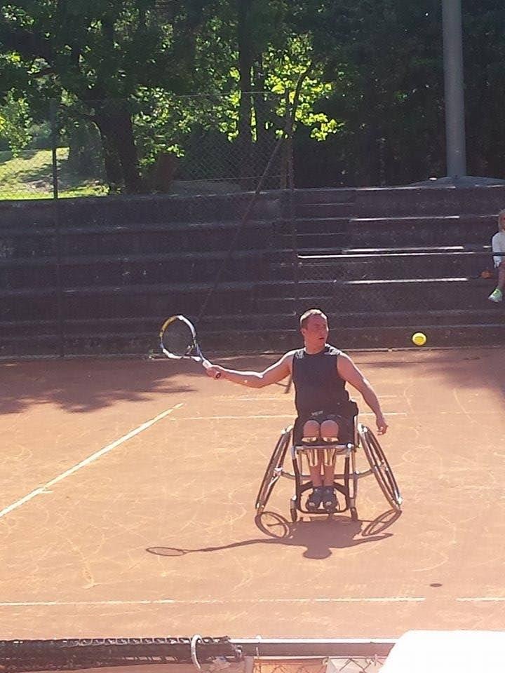 Вильяр Виллисте на турнире Читта ди Форли в Италии