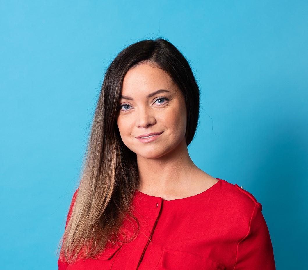 Маргарита Купченкова. Специалист по связям с общественностью Больничной кассы.