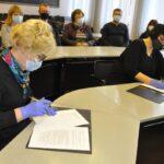 Подписание коалиционного договора в горсобрании Нарвы