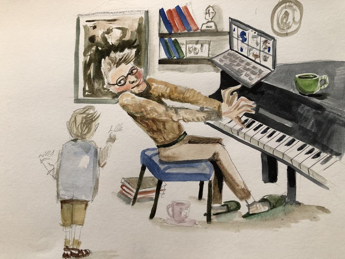История маленького Камушка. Иллюстрация Марии Самбуко