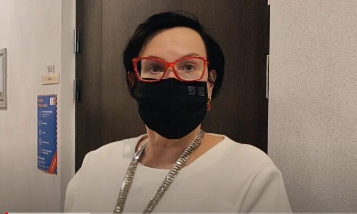 Стоп-кадр видеоинтервью Катри Райк