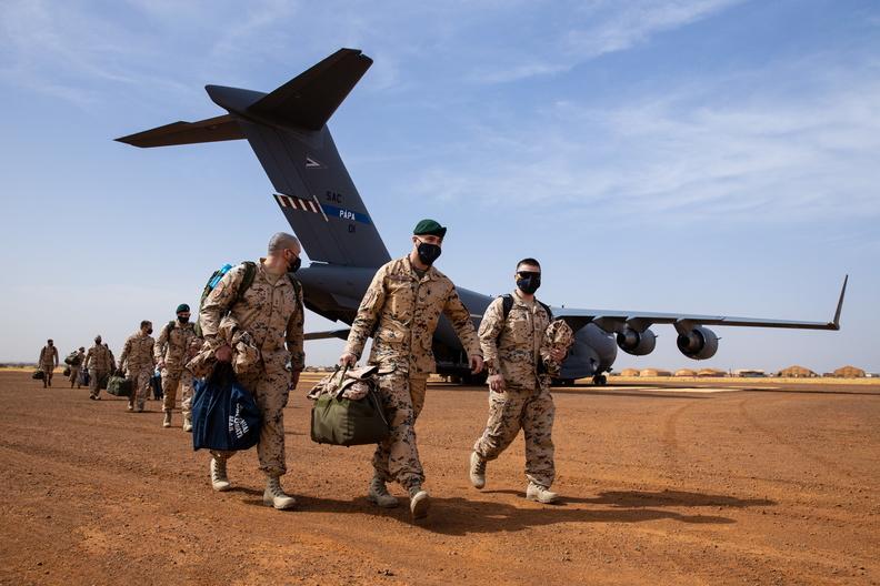 эстонский контингент в Мали