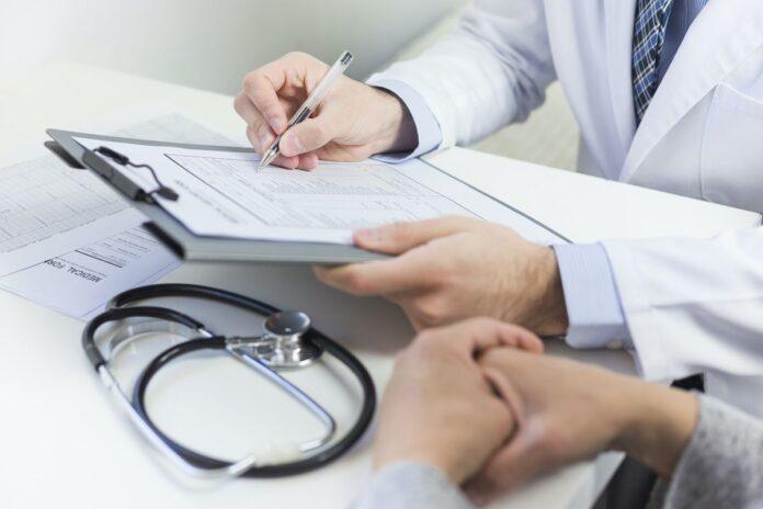 доктор, врач, пациент, больничный