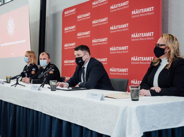 Пресс-конференция Спасательного департамента