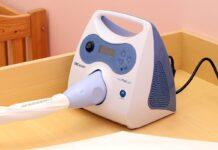 Аппарат для лечения желтухи новорожденных.