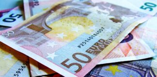Евро, деньги, EUR