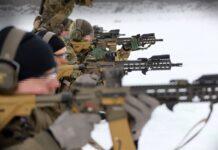 Новое стрелковое вооружение Эстонского спецназа