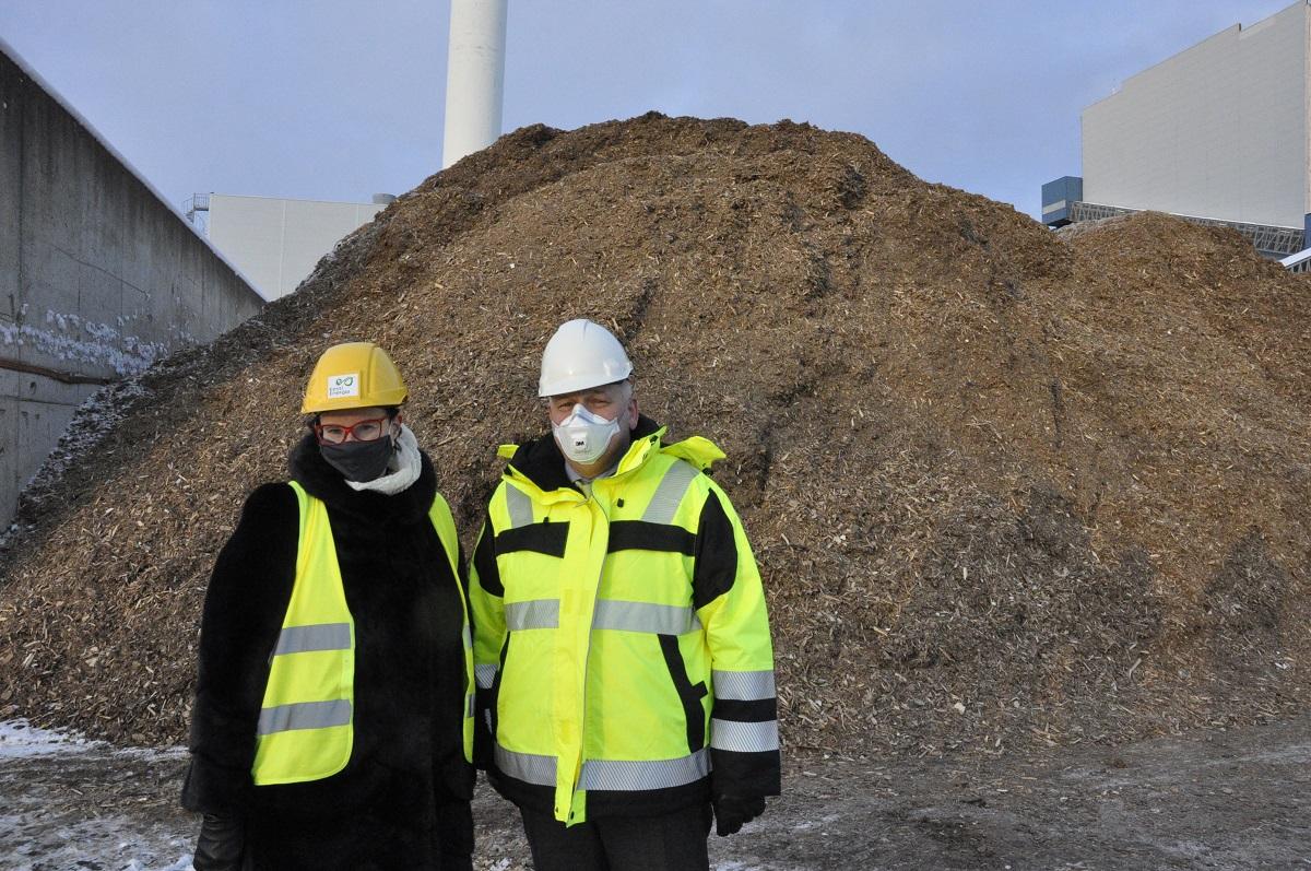 Чистое биотопливо, бывшее прежде выбрасываемым отходом. Теплоэнергия