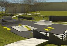 Эскиз скейт-парка в Нарве