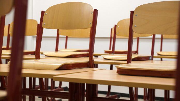 школа, пустой класс