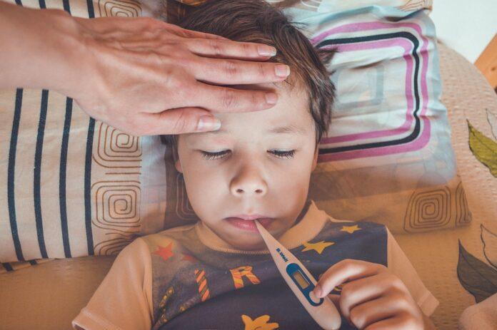ребёнок, дети, болезнь, COVID-19