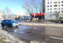 Ямы на дорогах Нарвы, ремонт дорог