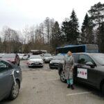 Организатор антиковидного пробега в Нарве Янина Лойко