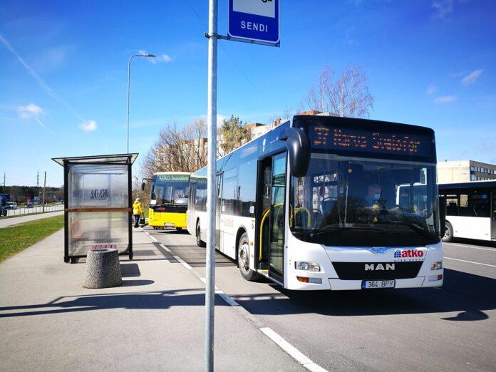 АТКО, автобус, пассажиры, остановка, общественный транспорт, Сенди, 37