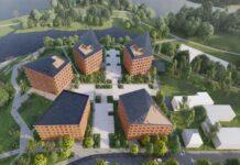 Эскиз нового жилого квартала на месте бывшей 7-й школы