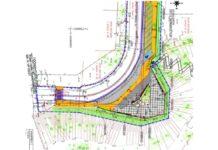 Схема территории строительных работ - Смотровая площадка «5 кроновый вид»