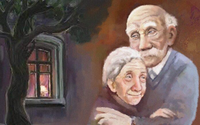 старики пожилые пенсионеры