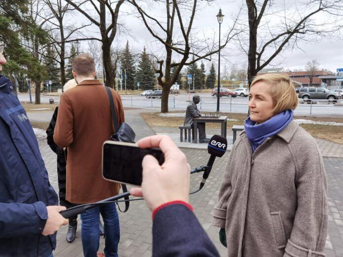 Лидер партии Eesti 200 Кристина Каллас