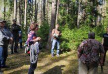 Встреча представители управы Нарва-Йыэсуу и защитников леса