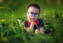 очки ребенок мальчик