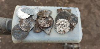 Арабские серебряные дирхемы 10-го века
