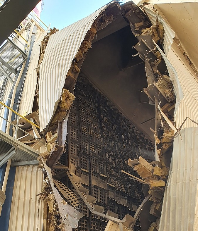 Взрыв на Балтийской электростанции
