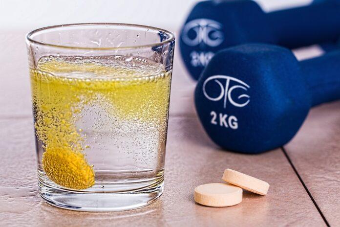 Витамины, магний, шипучка, спорт