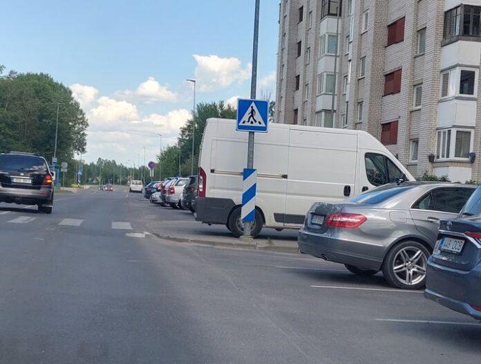 Опасная парковка