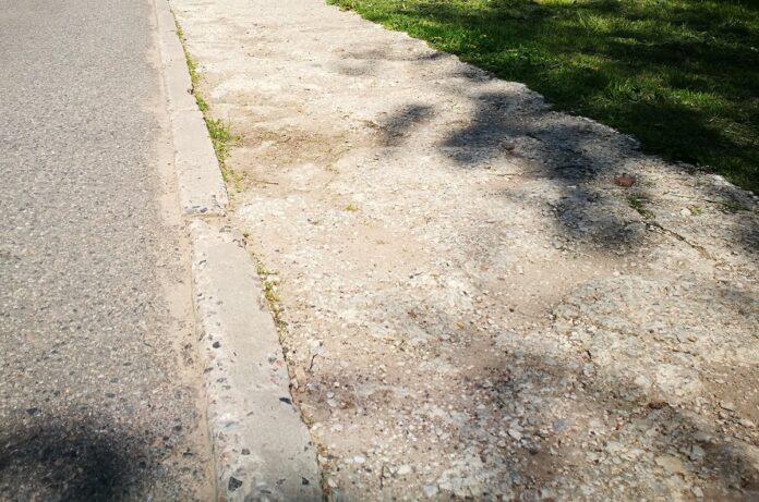 Тротуар у детсада «Potsataja», тротуары