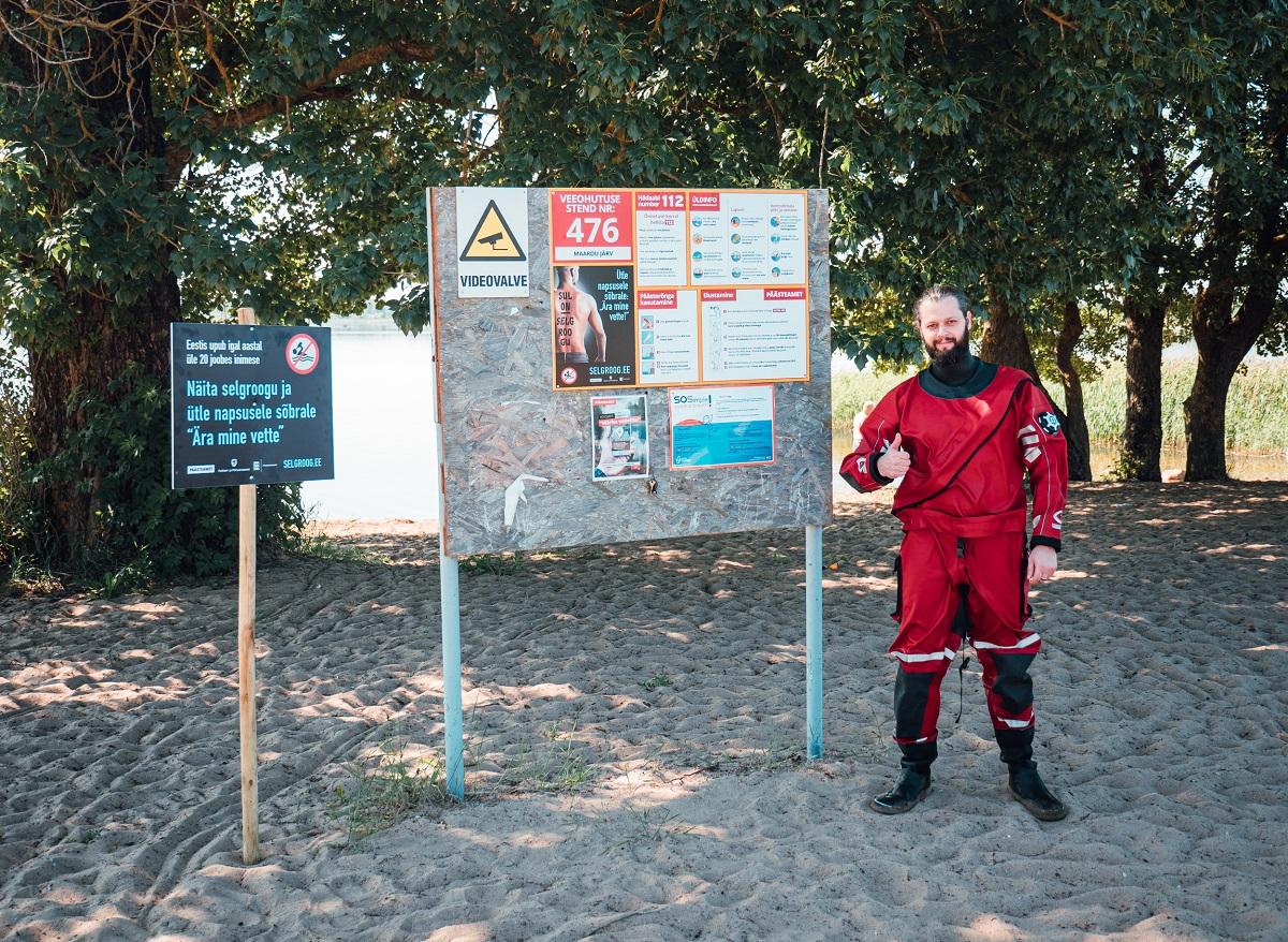 Установка буйков безопасности в общественные места для купания