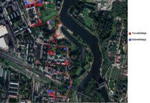 Схема трассы ралли «Narva 1+1 rahvasprint 2021»