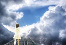 смерть, ангел, девочка, душа