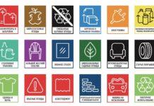 Пиктограммы сортировки мусора