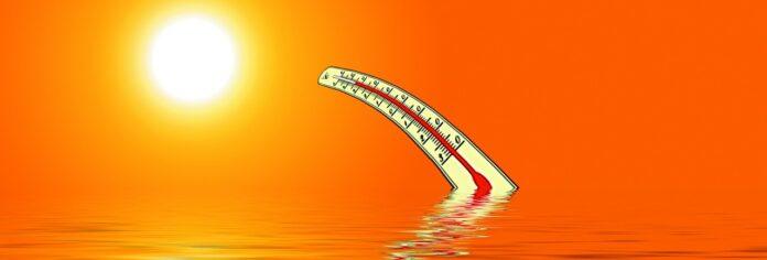 жара термометр море